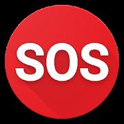 Alerta de seguridad SOS de emergencia