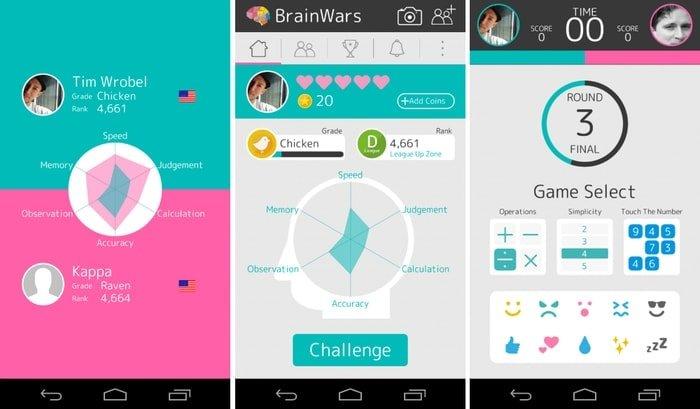 """brain_wars """"width ="""" 700 """"height ="""" 409 """"srcset ="""" https://aplicacionestop.com/wp-content/uploads/2020/03/1585505172_53_Los-15-mejores-juegos-mentales-para-dispositivos-Android-en-2020.jpg 700w, https: // www .ubuntupit.com / wp-content / uploads / 2019/07 / brain_wars-300x175.jpg 300w, https://www.ubuntupit.com/wp-content/uploads/2019/07/brain_wars-696x407.jpg 696w """"tamaños = """"(ancho máximo: 700px) 100vw, 700px"""" /> </p> <p> The Brain Wars es una de las mejores y desafiantes aplicaciones de juegos cerebrales para Android en el mercado actual. Esta aplicación genera un modo competitivo dentro de ti al ponerte en contra un duro competidor <span style="""