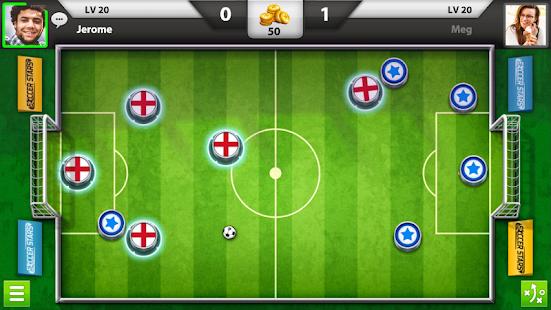 """Soccer-Stars """"ancho ="""" 551 """"height ="""" 310 """"srcset ="""" https://aplicacionestop.com/wp-content/uploads/2020/03/1585525075_131_Los-20-mejores-juegos-de-fútbol-para-dispositivos-Android-en-2020.png 551w, https : //www.ubuntupit.com/wp-content/uploads/2019/07/Soccer-Stars-300x169.png 300w """"tamaños ="""" (ancho máximo: 551px) 100vw, 551px """"/> Disfruta del fútbol en línea más versátil juega en tus dispositivos Android con tus amigos y jugadores de todo el mundo. Soccer Stars es una de las mejores plataformas de fútbol multijugador con gráficos realistas y una interfaz de juego fácil de usar. De nuevo, es el mejor juego de fútbol sin conexión, sugerido por muchos jugadores. Te permite tenga sesiones de juego desafiantes y continuas, ya que los jugadores siempre se actualizan, y siempre hay nuevos eventos en los que puede llegar a ser un campeón de fútbol. </span></p> <p><strong><span style="""