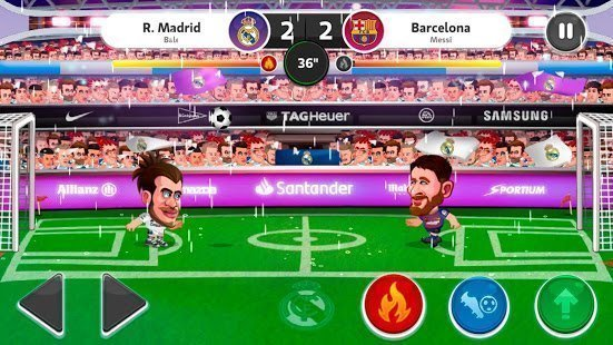 """Head-Soccer-LaLiga """"ancho ="""" 551 """"height ="""" 310 """"srcset ="""" https://www.ubuntupit.com/wp-content/uploads/2019/07/Head-Soccer-LaLiga .jpg 551w, https://www.ubuntupit.com/wp-content/uploads/2019/07/Head-Soccer-LaLiga-300x169.jpg 300w """"tamaños ="""" (ancho máximo: 551px) 100vw, 551px """"/ > El juego de fútbol será más realista con este juego de fútbol con licencia oficial de LALIGA Head Soccer. Disfruta de uno de los mejores juegos de fútbol gratis con estadios y jugadores reales. Elige cualquiera del equipo de LALIGA y comienza a jugar. el juego es entrenar jugadores. Puedes entrenar y aumentar el poder de tus jugadores. Puedes jugar el juego en diferentes modos como liga, campeones, amistosos, etc. Y finalmente, puedes guardar el progreso de tu juego y no hay posibilidad de perder tu carrera. Así que no esperes para descargar este juego. </span></p> <p><span style="""
