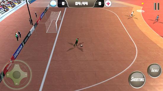 """Futsal-Football-2 """"width ="""" 551 """"height ="""" 310 """"srcset ="""" https: // www .ubuntupit.com / wp-content / uploads / 2019/07 / Futsal-Football-2.png 551w, https://www.ubuntupit.com/wp-content/uploads/2019/07/Futsal-Football-2- 300x169.png 300w """"tamaños ="""" (ancho máximo: 551px) 100vw, 551px """"/> Si estás buscando un tipo diferente de juego de fútbol, entonces Futsal Football 2 es seguramente la mejor opción para ti porque este juego de fútbol es el Lo mejor para Android. Este juego es igual a un juego de fútbol real, pero hay algunos cambios. Se juega dentro de un estadio cubierto. El objetivo es generalmente más corto en longitud y altura. El fútbol rebotará menos que un fútbol real. En definitiva, tendrás una experiencia diferente. El juego también tiene gráficos geniales. Debes tener una sensación realista al jugar este juego. Así que intentemos algo diferente, y creo que te encantará jugar este juego de fútbol sala. </span></p> <p><span style="""