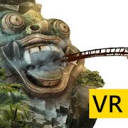 VR Temple Roller Coaster para Cardboard VR