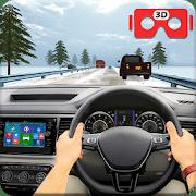 VR Traffic Racing en conducción de automóviles