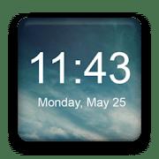 Widget de reloj digital - Aplicación de reloj para Android