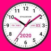Widget de reloj analógico Plus-7