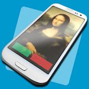 Aplicación de contactos de identificación de llamadas en pantalla completa para Android