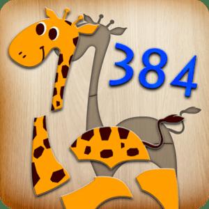 384 Puzzles, aplicaciones para niños para Android