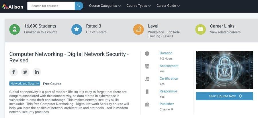 Redes informáticas: seguridad de redes digitales