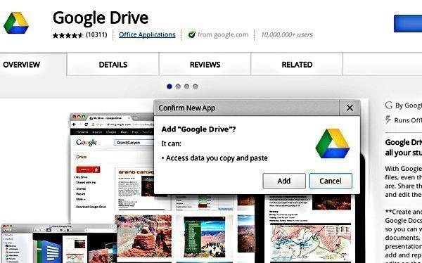 Use Google Drive en Chromebook mientras usa sin conexión