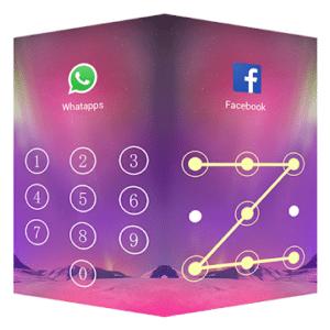 AppLock Aurora, aplicaciones AppLock para Android
