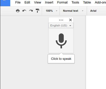 Escriba como si estuviera conversando con el público mediante el dictado por voz