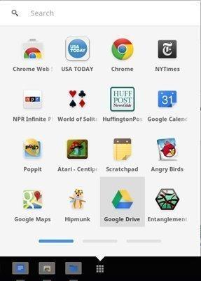 Lanzador de aplicaciones de Chromebook