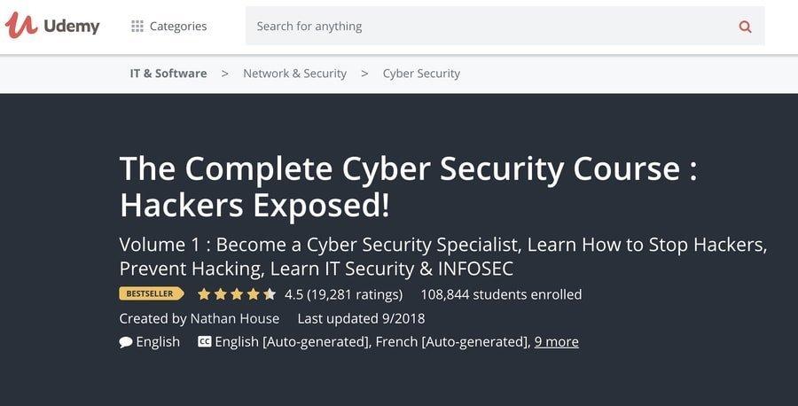 Curso completo de ciberseguridad: Hackers expuestos