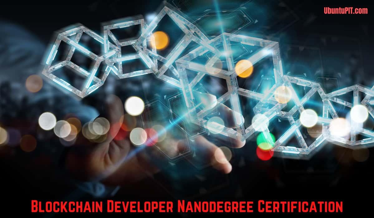 Certificación Nanodegree para el desarrollo de Blockchain