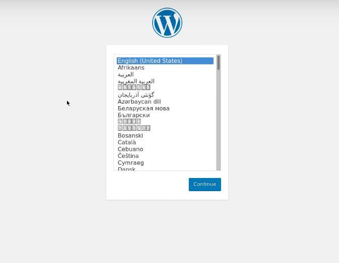 configurar WP en la web