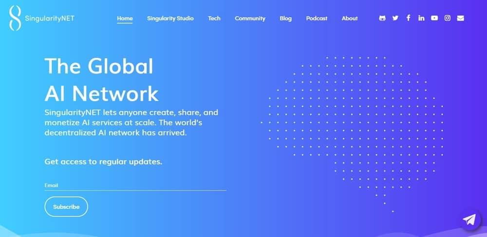 Los mejores proyectos de cadenas de bloques de Singularitynet