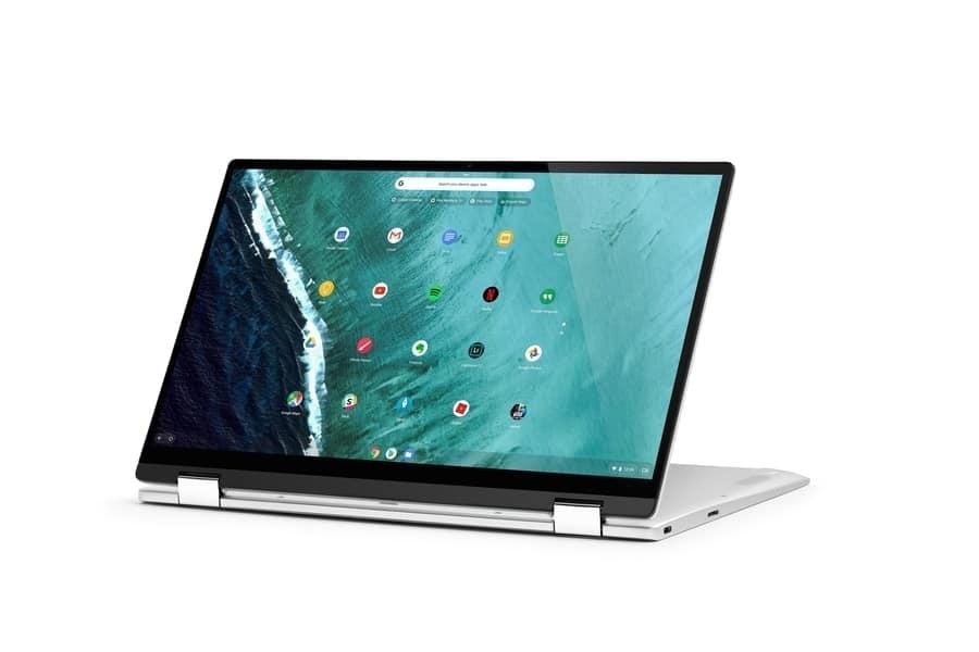 Asus Flip C434 Image 1 [19659021] Flip C434 ofrece una pantalla increíblemente brillante y vívida, que está aún más mejorada y mejorada que su predecesora, Clip 302CA. C434 obtuvo un 93% en la prueba de gama de colores sRGB por encima del puntaje de aprobación (83%) y reemplazó a 302CA (76%). En términos de brillo, Flip C434 resulta más brillante que el Chromebook promedio (235 nits) con 286 nits, pero está por detrás de Chromebook x2 y Flip C302CA.<img loading=