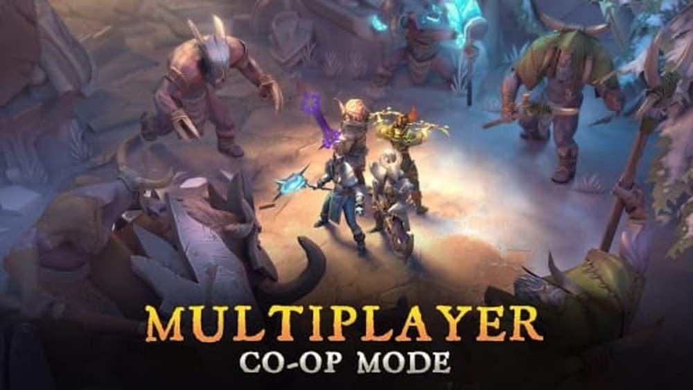Dungeon Hunter 5 - RPG de acción, juegos de tableta Android