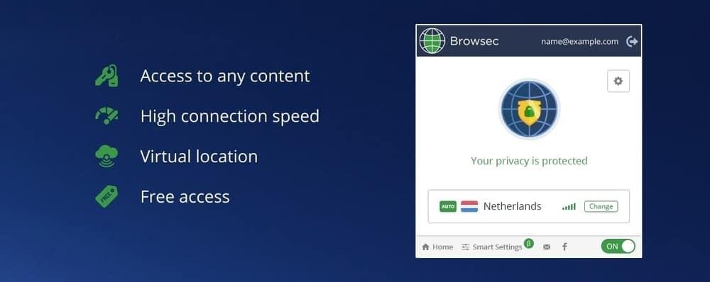 Browsec VPN - VPN gratuita para Chrome