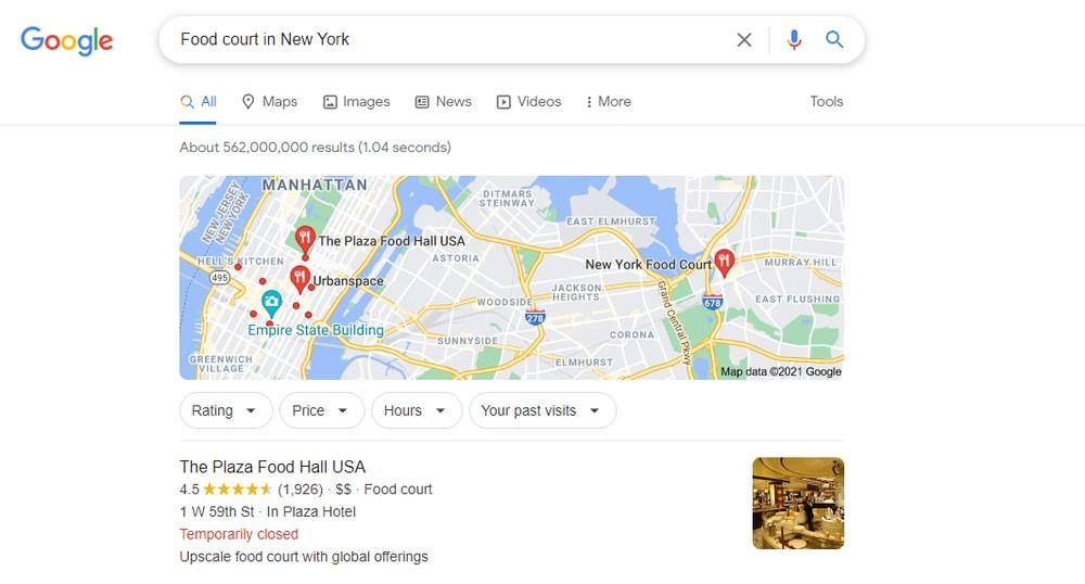 Buscar por ubicación Consejos y trucos de Google