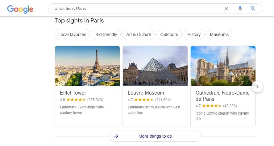 Obtenga información sobre viajes